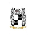 Pacquin Sticker (Rectangle 50 pk)