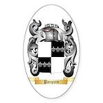Pacquin Sticker (Oval 10 pk)