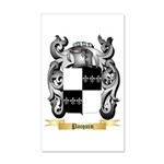 Pacquin 20x12 Wall Decal
