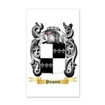 Pacquin 35x21 Wall Decal