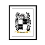 Pacquin Framed Panel Print