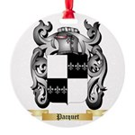 Pacquet Round Ornament
