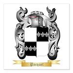 Pacquet Square Car Magnet 3