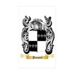 Pacquet Sticker (Rectangle 10 pk)