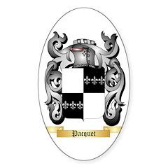 Pacquet Sticker (Oval)
