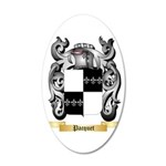 Pacquet 35x21 Oval Wall Decal