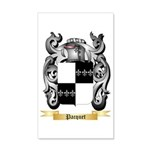 Pacquet 35x21 Wall Decal