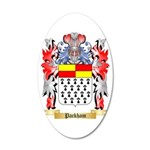 Packham 35x21 Oval Wall Decal