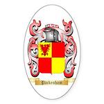 Packenham Sticker (Oval 10 pk)