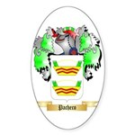 Pacheco Sticker (Oval 10 pk)