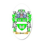 Pacey Oval Car Magnet
