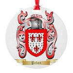 Pabon Round Ornament