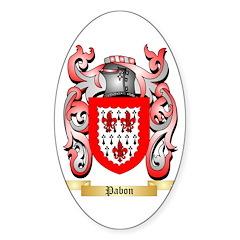Pabon Sticker (Oval)