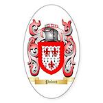 Pabon Sticker (Oval 50 pk)