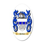 Pablos 35x21 Oval Wall Decal