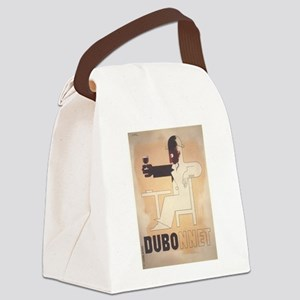 Vintage poster - Dubonnet Canvas Lunch Bag