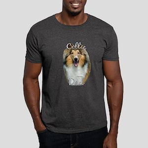 Collie Dad2 Dark T-Shirt