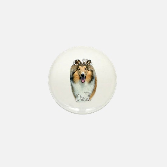 Collie Dad2 Mini Button