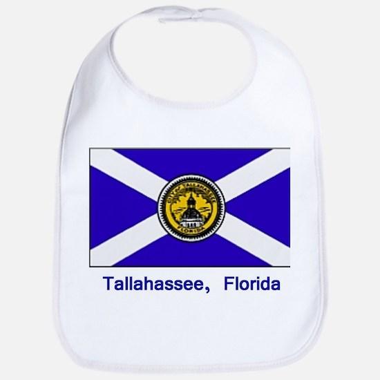 Tallahassee FL Flag Bib