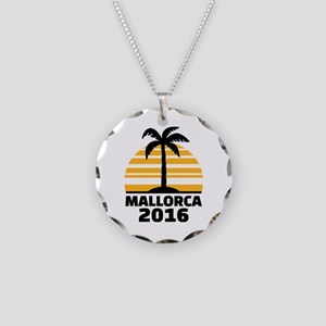 Mallorca 2016 Necklace Circle Charm