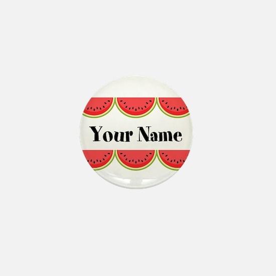 Watermelons Personalized Mini Button