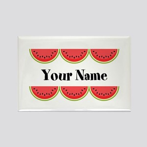 Watermelons Personalized Magnets
