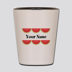 Watermelons Personalized Shot Glass