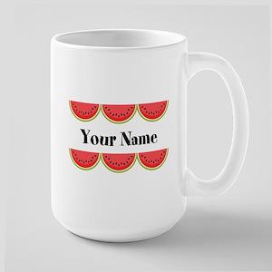 Watermelons Personalized Mugs