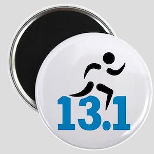 Half marathon 13.1 miles Magnet