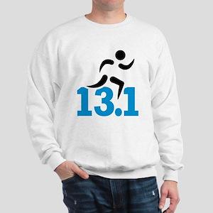 Half marathon 13.1 miles Sweatshirt
