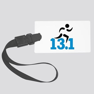 Half marathon 13.1 miles Large Luggage Tag
