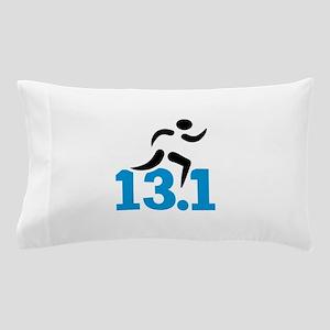 Half marathon 13.1 miles Pillow Case