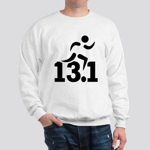 Half marathon runner Sweatshirt