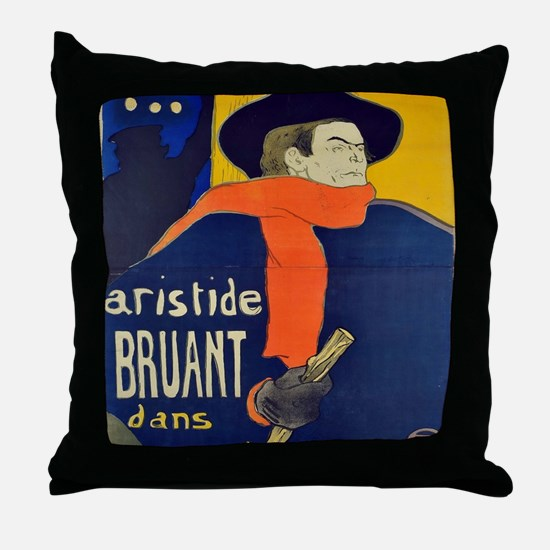 Cool Toulouse Throw Pillow