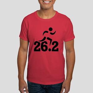 26.2 miles marathon Dark T-Shirt