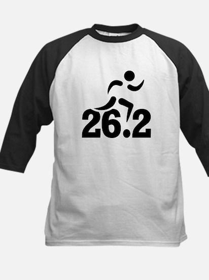 26.2 miles marathon Kids Baseball Jersey