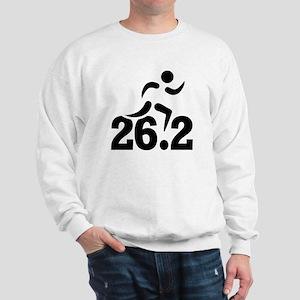 26.2 miles marathon Sweatshirt