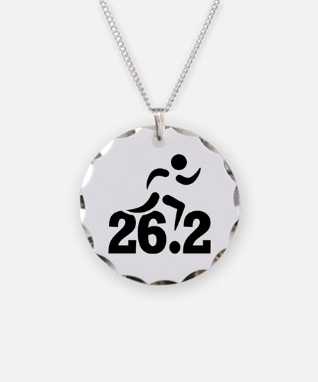 26.2 miles marathon Necklace