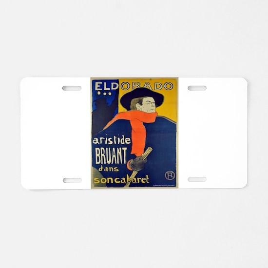Vintage poster - El Dorado Aluminum License Plate