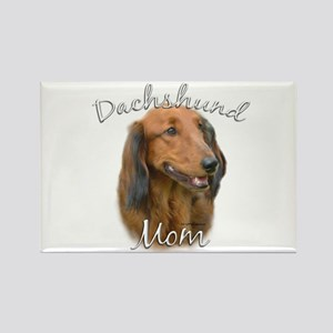 Dachshund Mom2 Rectangle Magnet