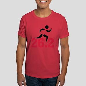 26.2 miles marathon runner Dark T-Shirt