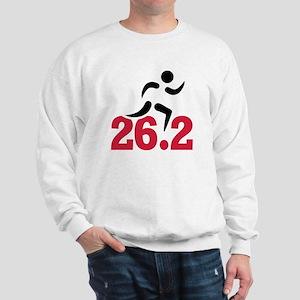 26.2 miles marathon runner Sweatshirt