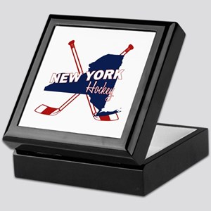 New York Hockey Keepsake Box