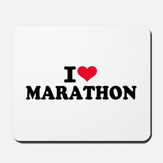 I love Marathon Mousepad