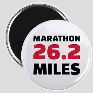 Marathon 26 miles Magnet