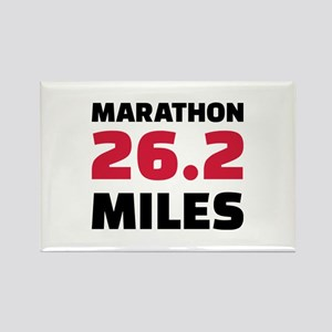 Marathon 26 miles Rectangle Magnet