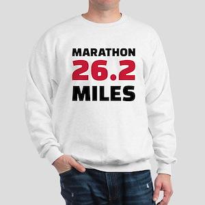 Marathon 26 miles Sweatshirt