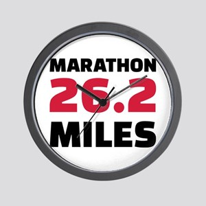 Marathon 26 miles Wall Clock