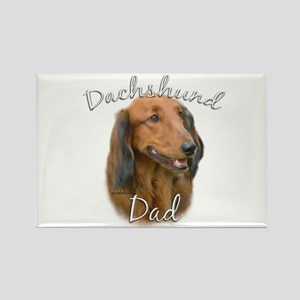 Dachshund Dad2 Rectangle Magnet