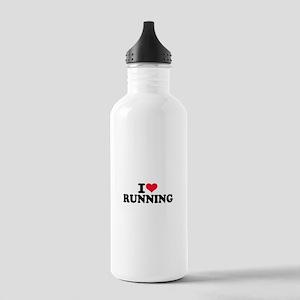 I love running Stainless Water Bottle 1.0L